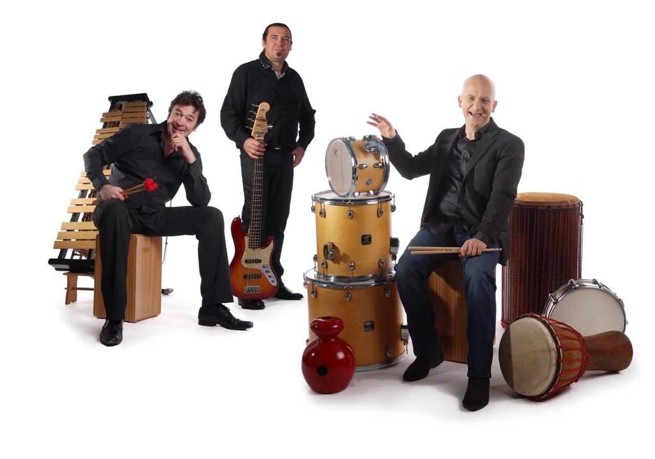 photo du wake up trio avec Vincent Limouzin, Anthony La Rosa et Pascal Bihannic